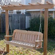 Small Picture Great Garden Swing Ideas To Ensure A Gregarious Time For All