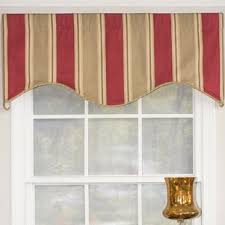 cornice window treatments. Varsity Stripe Cornice 50\ Window Treatments