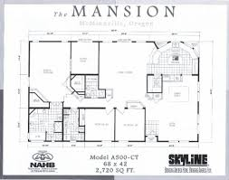Valley Quality Homes Mansion Series 2836 Floor PlanFloor Plans Mansion