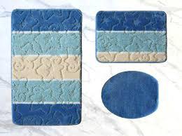 Tlg Xl Bad Garnitur Badezimmergarnitur Farbharmonisch In Blau Tönen