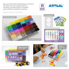 aliexpress com buy exclusive soft artkal fuse beads 36 color box aliexpress com buy exclusive soft artkal fuse beads 36 color box set midi perler beads family intelligence game for kids cr36 from reliable games for kids