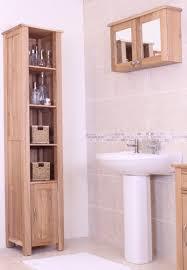 mobel oak wall mounted bathroom cabinet