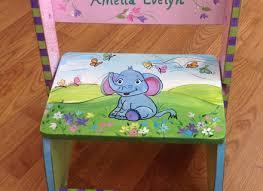 whimsical painted furnitureBest 10 Painted Teacher Stool Ideas On Pinterest Teacher Stools