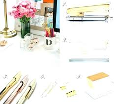 elegant home office accessories. Elegant Office Accessories Gold Home .