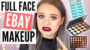 full face of ebay makeup sophdoesnails