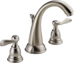delta b3596lf ob oil rubbed bronze windemere widespread bathroom faucet with pop up drain assembly includes lifetime warranty faucet com