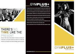 Gym Brochure Indesign Trifold Gym Brochure Template Front And Back 19