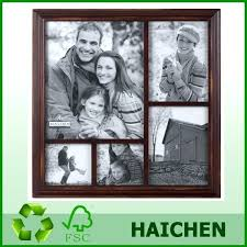 2 opening 8x10 picture frame sided black wood collage frame with mat picture multi opening for photo and 2 sports cards black white 8x10
