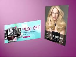 All hair types, color treated hair. John Frieda Coupons
