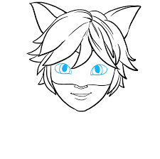 Explore and run machine learning code with kaggle notebooks | using data from customer data. How To Draw Cat Noir From Miraculous Really Easy Drawing Tutorial