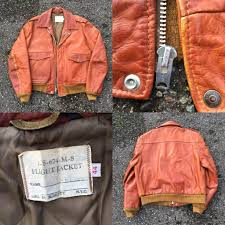 found this vintage 70s schott nyc leather flight jacket in the bins a couple days ago lovin this color