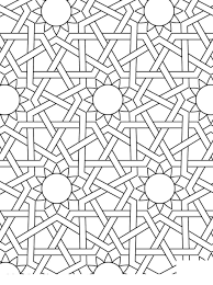 Islamic Art Coloring Pages Valid Linear Free Printable Coloring Pages