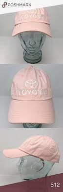 Toyota Automobiles Cotton Baseball Hat Imperial Toyota Motors Baseball Cap Hat Cotton Pink Osfm Strap Back Hook Loo Baseball Hats Women Accessories Hats Hats