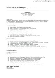 Science Teacher Resume Format India Computer And Cover Latter