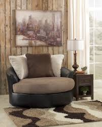 Leather Swivel Chairs For Living Room Furniture Elegant Armchair Design With Comfortable Swivel Accent