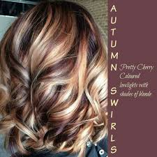 Light Cherry Brown Hair Pretty Cherry Colored Low Lights With Shades Of Blonde