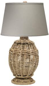 Jamie Young Small Jute Table Lamp - #P2563 | Lamps Plus
