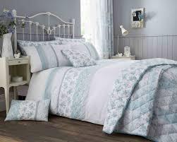 details about garden fl duvet cover pillowcase s set cushion bedspread in duck egg