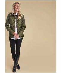 women s barbour annandale quilted jackets in black navy olive best ing barbour jackets