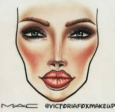 m a c face chart