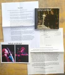 ROCK CELLO CD, photo & promo: VON cello (Aaron Minsky) EXCALIBUR Orange  Dawg   eBay