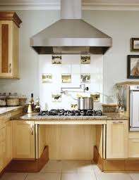 Lowered Cooktop With Space Underneath For A Wheelchair Amazing Design