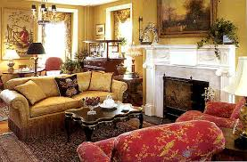 living room of allentown designer showhouse with rugs by