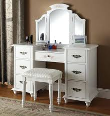 Espresso Bedroom Vanity Set Asio Club