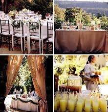 Wedding Food Tables How To Throw A Backyard Wedding The Food Table Decor