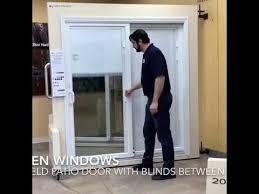 andersen permashield patio door with