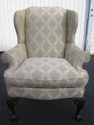 stylish thomasville wingback chair