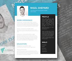 Creative Marketing Resume Bright Sky Free Creative Resume Template Freesumes