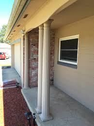 exterior column wraps. Exterior Delightful Image Of Small Front Porch Decoration Using Column Wraps