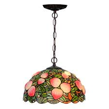 <b>Rustic Rural Antique Art</b> Deco Colourful Stained Glass Tiffanylamp ...