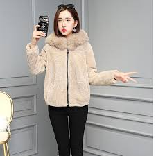 the fur coat food fur coat short lt lt 3color x 5size gt