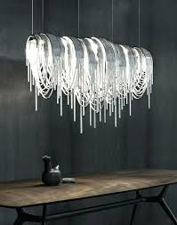 chandeliers modern design this dazzling chandelier has been made from thin nickel chains with led lighting