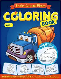trucks planes and cars coloring book cars coloring book for kids toddlers activity books for preer coloring book for boys s fun