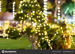 Easy Way Hang Christmas Lights Outdoor Blurred Decorative Outdoor Led String Lights Hanging Tree