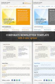 Corporate & Professional Email Newsletter Template By R_Genesis ...