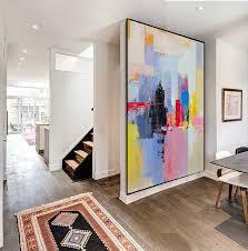 palette knife painting huge abstract canvas art original artwork inside large work idea 10