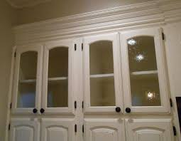 fabulous white kitchen cabinet with textured glass doors