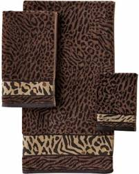 better homes and gardens towels.  Homes Better Homes U0026 Gardens Animal Print Jacquard Finger Tip Towel Set 6 Pc For And Gardens Towels N