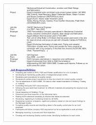 Certified Quality Engineer Sample Resume Gorgeous Certified Mechanical Engineer Sample Resume Awesome Summary For