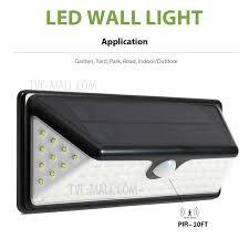 wh bd b1 5w solar energy light sensor and pir sensor light outdoor