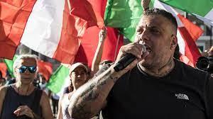 No Green Pass, arrestato anche Giuliano Castellino di Forza Nuova