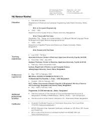 Best Resume Format Best Resume Format Mechanical Engineers Best ...