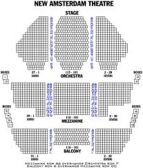 Amsterdam Theatre Nyc Seating Chart Stephen Sondheim Theatre Seating Chart Awesome Beautiful The