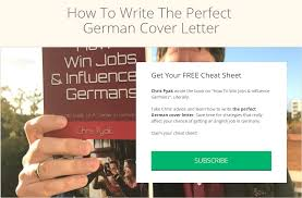 Feb 20, 2021 · leave application to boss email format there are two methods of writing a leave letter, either formal or casual. The Perfect Cover Letter For Germany Immigrant Spirit