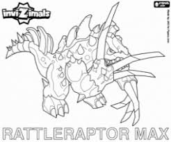 Invizimals Coloring Pages Printable Games 2 Max D Coloring Pages