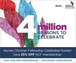 National Nurses Week Nurses Christian Fellowship